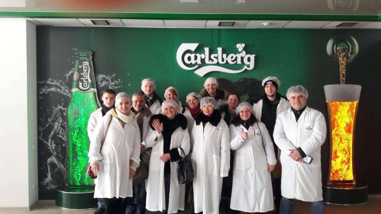 Посещение Запорожского завода